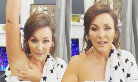 Shirley Ballas addresses concerns after Strictly fans spot suspicious lump under her arm
