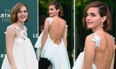 Emma Watson commands attention in backless ensemble after 'dormant' career claims