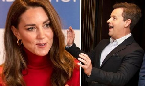 Dec Donnelly left red-faced after 'royally' awkward gaffe in front of Kate Middleton