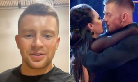 Strictly's Adam Peaty talks 'struggle' in rehearsals after 'almost kissing' Katya claims