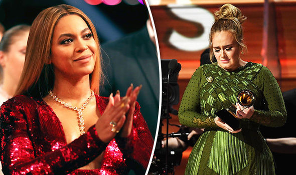 Adele made Beyonce shed a tear during herspeech