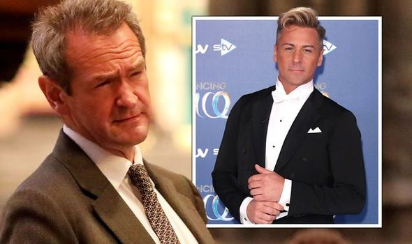 Alexander Armstrong: The TV star was humiliated by Matt Evers in their first meeting