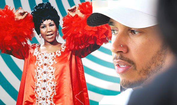 Aretha Franklin died: Lewis Hamilton has spoke out about her death on Instagram