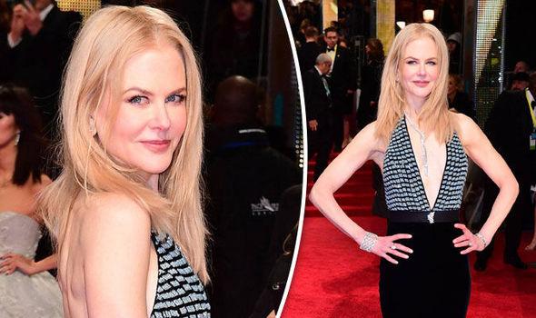 BAFTAs Nicole Kidman