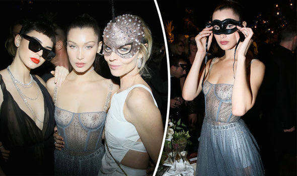 Bella Hadid Paris Fashion Week Dior Kendall Jenner