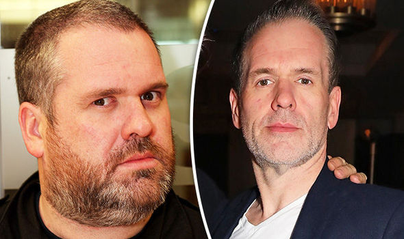 Chris Moyles looks unrecognisable