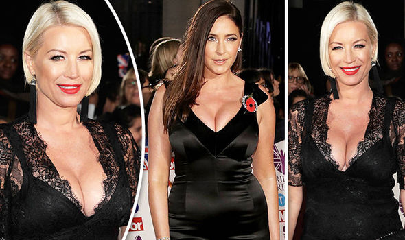 Denise Van Outen and Lisa Snowdon