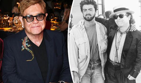 Elton John George Michael