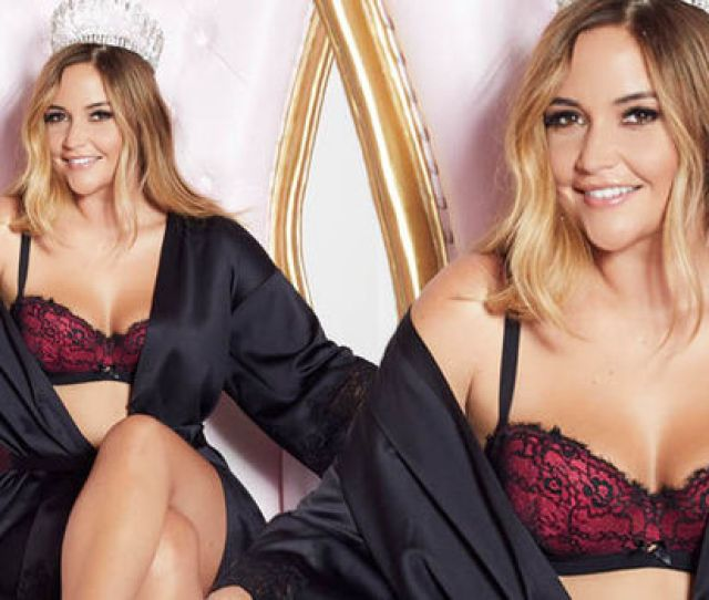 Jacqueline Jossa Pictures Former Eastenders Star Strips Off For Sexy Lingerie Campaign