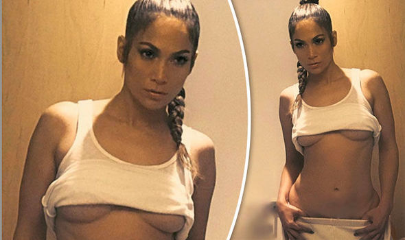 Jennifer Lopez exposes MAJOR underboob in seriously