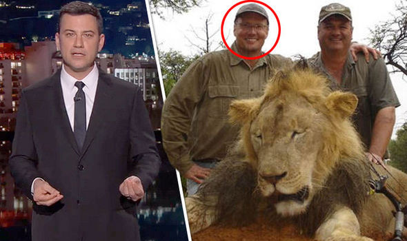 Jimmy Kimmel got visibly upset while discussing Cecil the lion last night