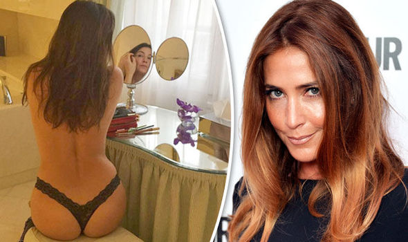 Lisa Snowdon thong naked topless engaged Instagram