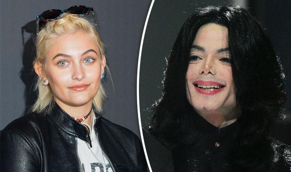 Paris Jackson and Michael Jackson