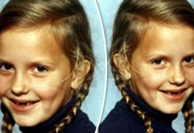 You'll NEVER guess which stunning model this adorable youngster grew up to be…
