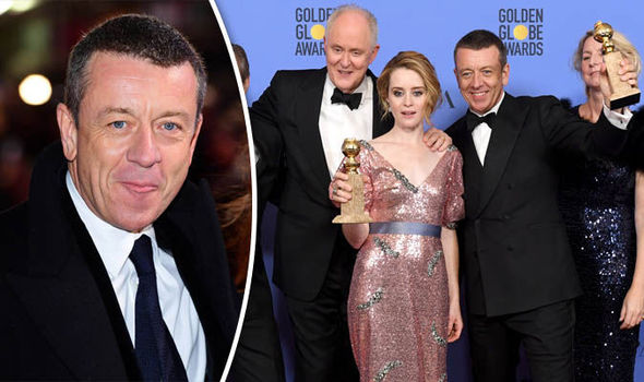 Peter Morgan and Claire Foy