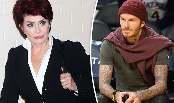 Sharon Osbourne David Beckham