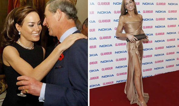 Tara Palmer-Tomkinson with Prince Charles