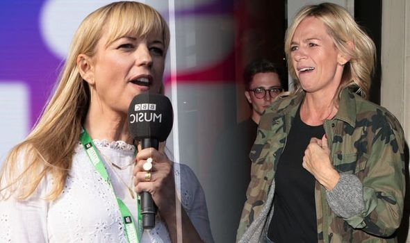 Zoe Ball Bbc Radio 2 Host Speaks Out On Rivalry With Sara