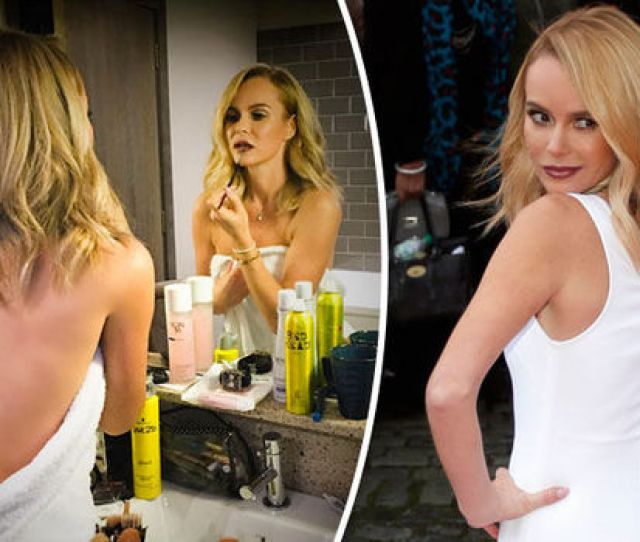 Amanda Holden Shared This Rather Sexy Snap Of Herself Getting Ready For Britains Got Talent