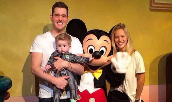 Michael Buble And Wife Luisana Lopilato Treat Baby Noah To