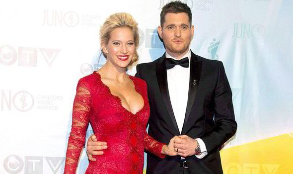 michael buble scared of