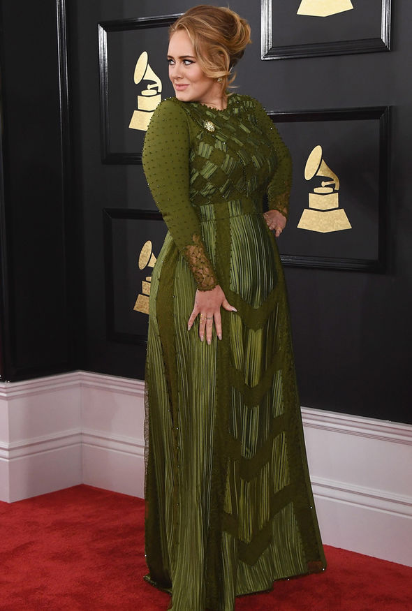 Adele Grammys acceptance speech married father
