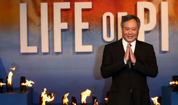 Ang Lee at Life of Pi premier