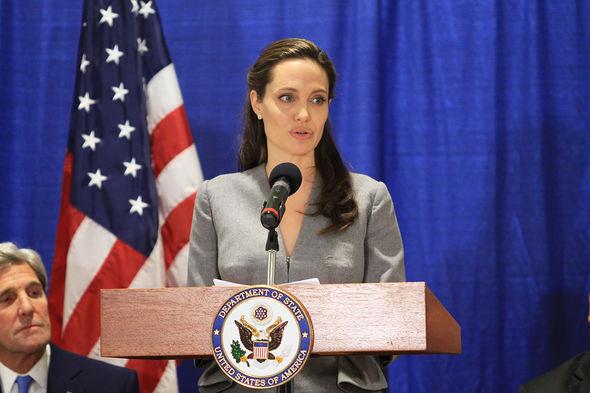 Angelina Jolie slams Donald Trump