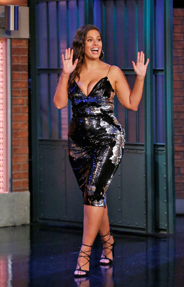 Ashley Graham Flashes Voluptuous Derriere And MAJOR