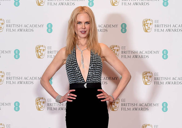 Nicole Kidman at the BAFTAs 2017