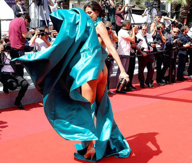 Cannes 2017 Wardrobe Malfunction Nip Slip Guest Rodin