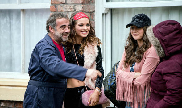 Rosie Webster returns to Coronation Street