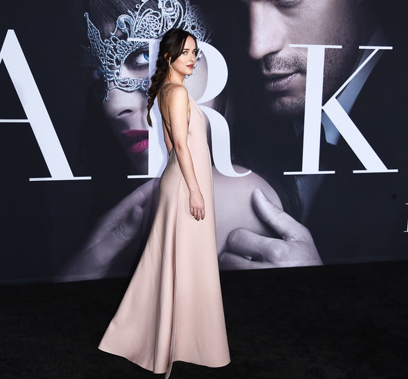 Dakota wore a show-stopping gown