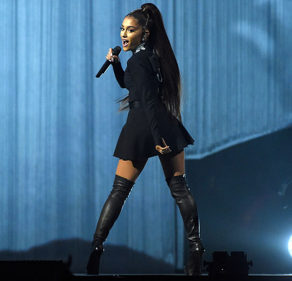 Ariana Grande on her Dangerous Woman tour