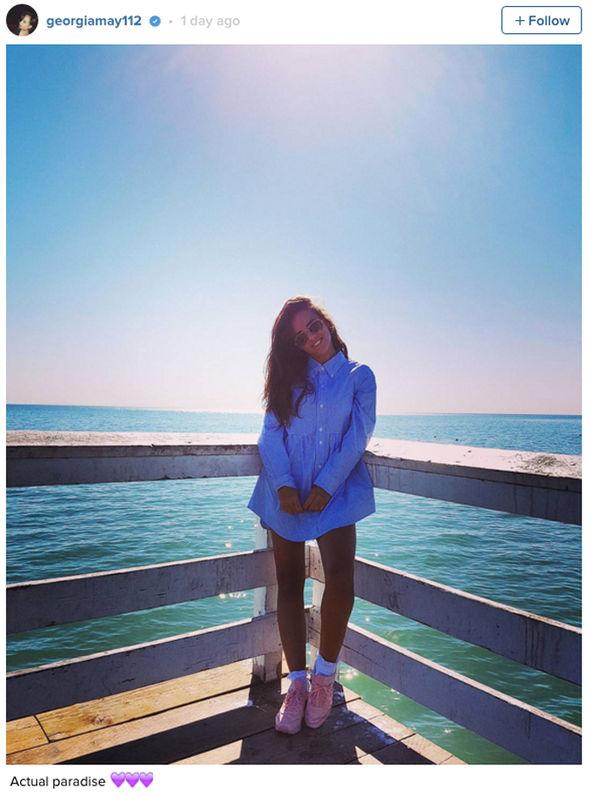 Georgia May Foote boyfriend Instagram Venice Beach George Alsford