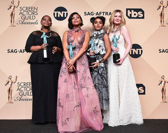 Hidden Figures cast won an award