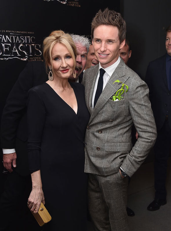 JK and Eddie Redmayne