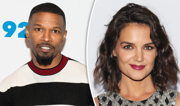 Jamie Foxx denied he and Katie Holmes were dating despite four years of romance rumours