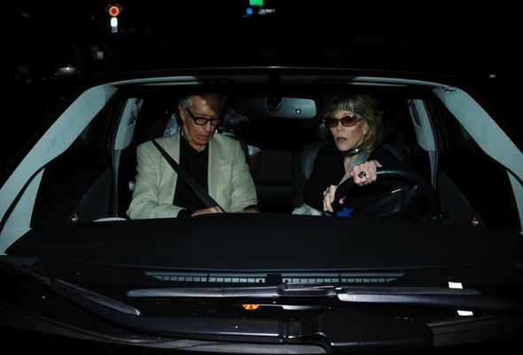 knee wheelchair what is a rolling shower chair jane fonda flaunts disabled parking badge as she goes out for date with richard perry ...