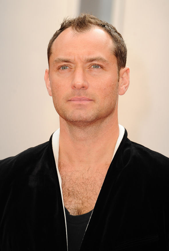 Jude Law Attends Spy After Party With Doppelgnger Model