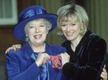 June Whitfield with her daughter