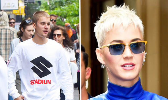 Justin Beiber and Katy Perry