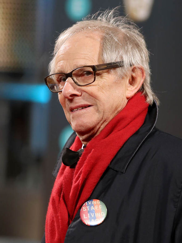 Ken Loach at the Baftas