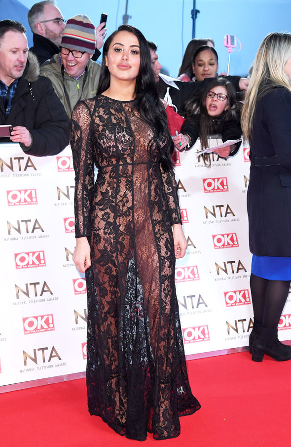 Marnie Simpson at the National Television Awards