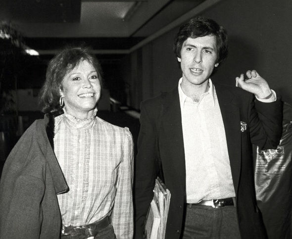 Mary Tyler Moore and husband Robert Levine