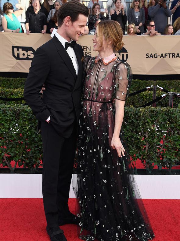 Matt Smith and Claire Foy