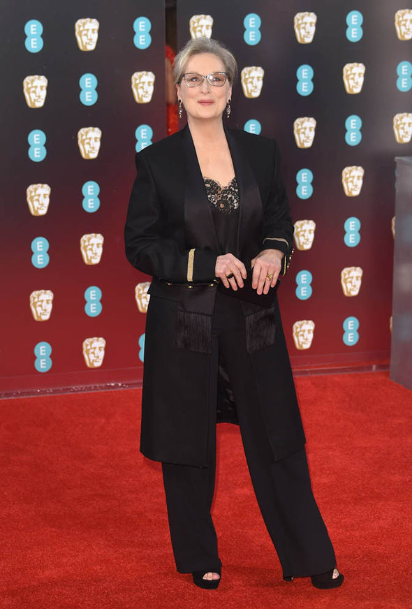 Meryl Streep at the BAFTAs 2017