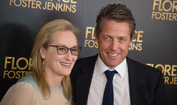 Hugh Grant and Meryl Streep starred together in Florence Foster Jenkins