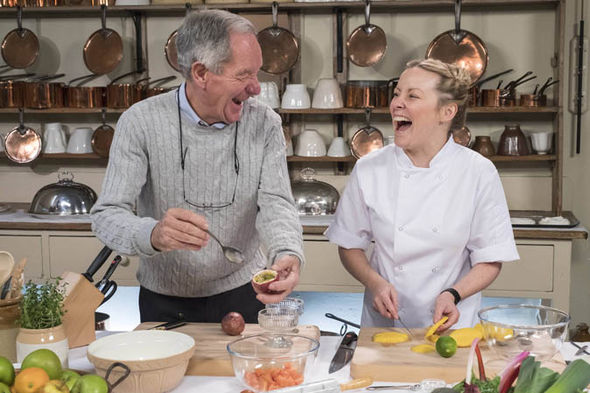 Michael Buerk on Royal Recipes