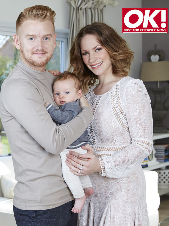 Mikey and Rachael North with son Archie